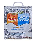 Superio Hot and Cold Reusable Insulated Bag Food Storage for Frozen Items & Hot Items Including Lunch Bags & Grocery Shopping Bags Reinforced Heavy Duty Refrigerated Totes (1, 12'x13.5')