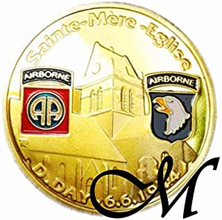 Mayflower CNF Coin - Sainte Mere Eglise D. Day 6.6.1944, Fight for Freedom
