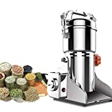 CHENJIU Christmas Promotion Super fine Grain Powder Machine Electric Grain Grinder Mill Cereal herb Spice Grinder for Corn Soybean Wheat Spices