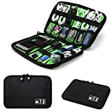 Bengvo Electronic Accessories Organizer Travel Gadget Bag for Cables, Plug, Hard Disk etc