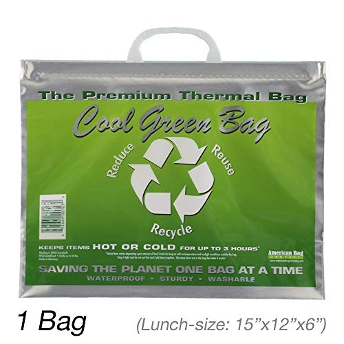 Insulated Bag | Thermal Bag | Hot Cold Bag (1 Lunch Bag)