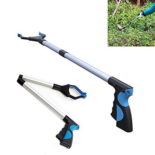 Grabber Tool,Foldable Reacher Grabber Pick Up Tool,Extender Long Arm Reacher Trash Pickers