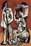 Pablo Picasso Women at the Toilette 1956 p6671 A3 Poster - Art Painting Decor