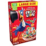 Kellogg's Froot Loops, Breakfast Cereal, Original, Good Source of Fiber, 14.7 oz Box