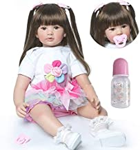 Toy Gifts for Girls KUNLIHUANG Baby Girl Toys Toddler Realistic 13 inch Baby Dolls for Girls