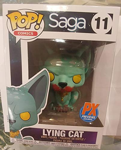 POP Figure Saga Lying Cat Bloody Exclusive