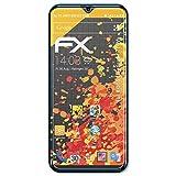 atFolix Panzerfolie kompatibel mit Kiano Elegance 6.1 Pro Schutzfolie, entspiegelnde & stoßdämpfende FX Folie (3X)