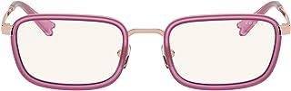 فوغ VO 4166S من ميلي بوبي بني/شفاف 49/19/135 نظارة شمسية للنساء