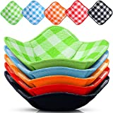 Bowl Huggers Hot Bowl Holder Microwave Safe Holder Multipurpose Hot Heat Proof Plate Holder to Prevent Your Hand from Heat and Maintain Your Food Warm for Heat Soup, Food, Meals (5 Pieces)