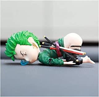 ASKLKD Car Interior Decoration Funny Dolls Sleepy One Piece Funny Doll Ornaments Car Interior Anime Decoration Accessories...