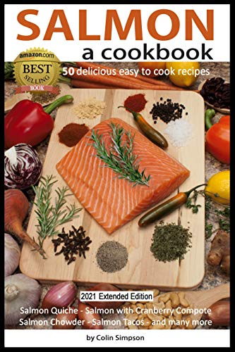 SALMON a cookbook (English Edition)