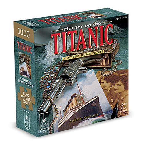 Murder On The Titanic Puzzle - 1000pc