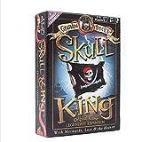 WINON Juego de Mesa Juego de Cartas Juego de Tablero de Fiesta con Tarjeta King Skeleton, Juego de Cartas de 8 años y más, de 2 a 6 Jugadores, de 30 a 45 Minutos (como Regalo) (tamaño : Skull King)