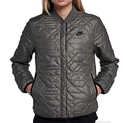 Nike Womens Quilted Insulated Primaloft Jacket River Rock (Medium) by NIKE
