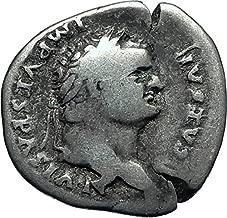 1000 IT TITUS Authentic Ancient Rome Genuine AR Roman Den Denarius Good