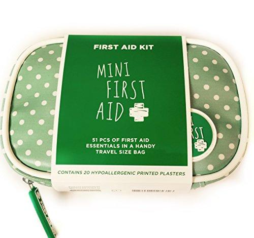 Kit de primeros auxilios Mini First Aid para bebé Perfecto para llevar en el bolso cambiador, el bolso de mano o el coche.
