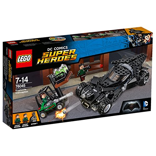 LEGO Super Heroes 76045 - l'Intercettamento della Kryptonite