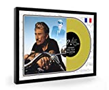 We Love Guitars Johnny Hallyday Framed Disque d'or Display Premium Edition (O)