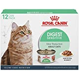 Royal Canin Digest Sensitive Thin Slices in Gravy Wet Cat Food, 3 oz. can, 12-pack