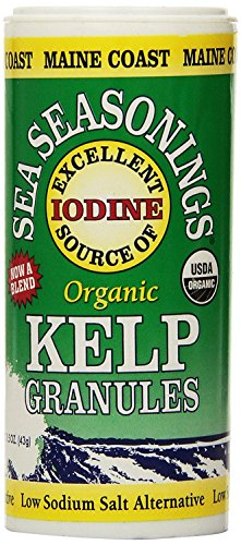 Maine Coast Sea Vegetables Organic Kelp Granules Salt Alternative ( 2 Pack )