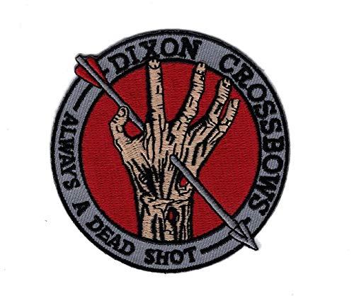 Anwendung Classic TV Film Cosplay Walking Dead Daryl Armbrust Badge gesticktes Eisen oder aufgesetzte Aufnäher Patch