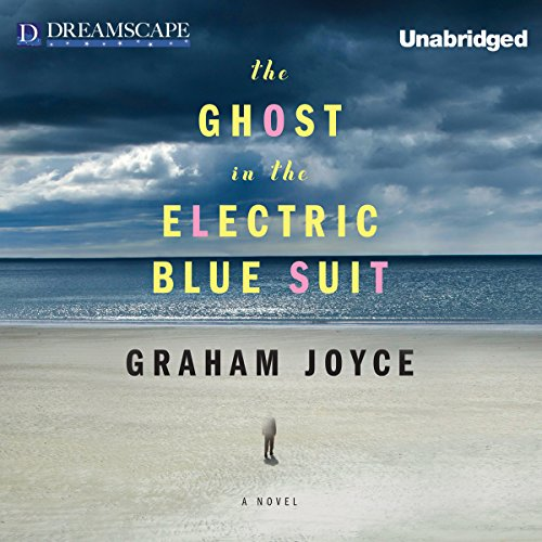 The Ghost in the Electric Blue Suit audiobook cover art