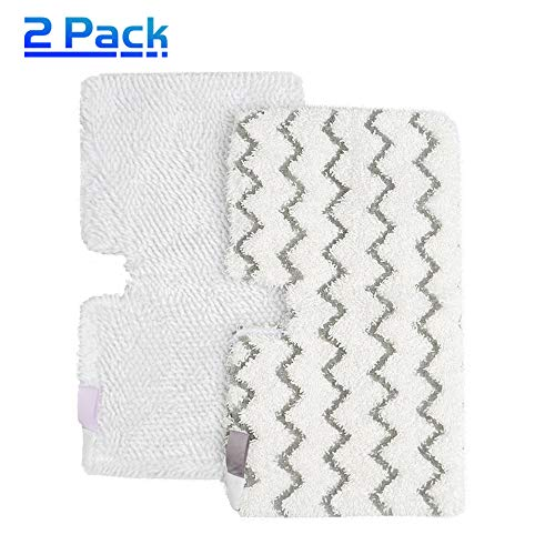 X Home Steam Mop Pads for Shark S3501, S3601, S3550, 2-Packs Steam Pocket Mop Replacement Pads for Household Floor Cleaning