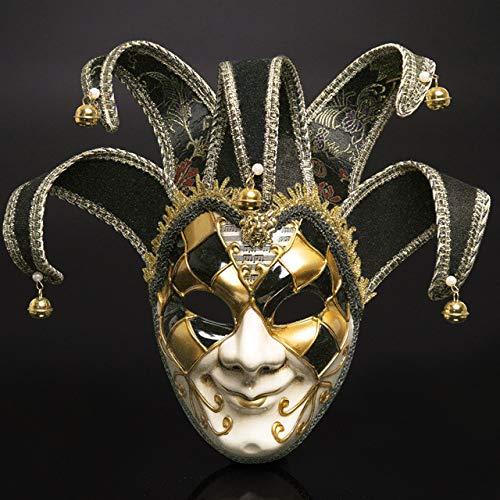 JNKDSGF Horror maskWomen Feestmasker Venetië Maskers Feestelijke Voorraden Maskerade Masker Kerstmis Halloween Venetiaanse Kostuums Carnaval Anonieme Maskers