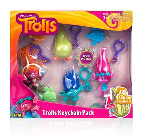 Trolls Keychain Pack