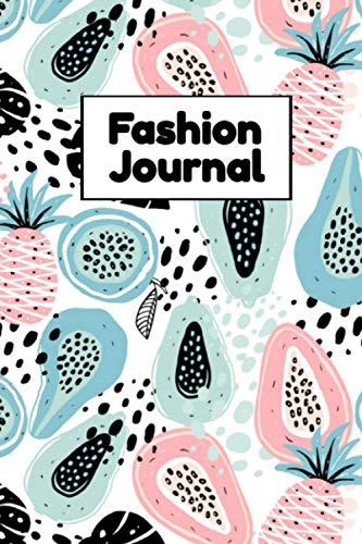Fashion Journal: Clothing Design Notebook - Fashion Wardrobe Planning Log