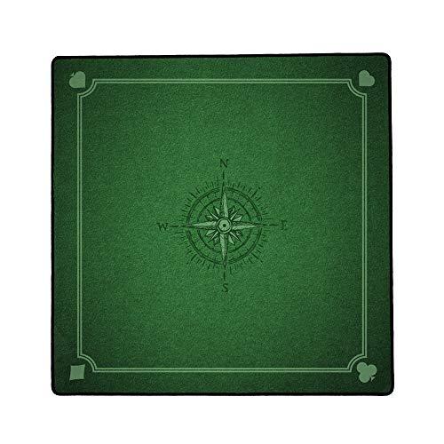 Immersion Tapis de Jeux de Cartes Playmat 76 x 76 cm - Haute Qualité de Glisse - Antidérapant