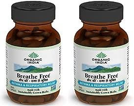 (2 PACK) - Organic India - Breathe Free | 60's | 2 PACK BUNDLE …
