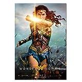 KELDOG Wonder Woman Poster, Filmplakate und Drucke Leinwand