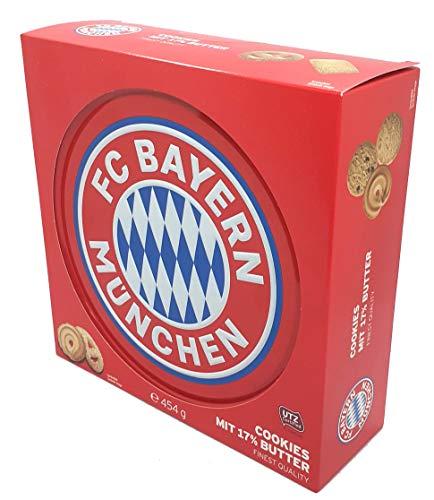 FC Bayern München Butter Cookies Geschenkpackung 454g
