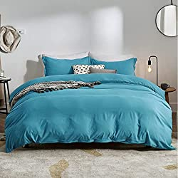 best top rated duvet cover teal 2021 in usa