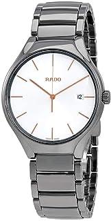 Rado - True R27239102 - Reloj de Pulsera para Hombre, Esfera Blanca de cerámica