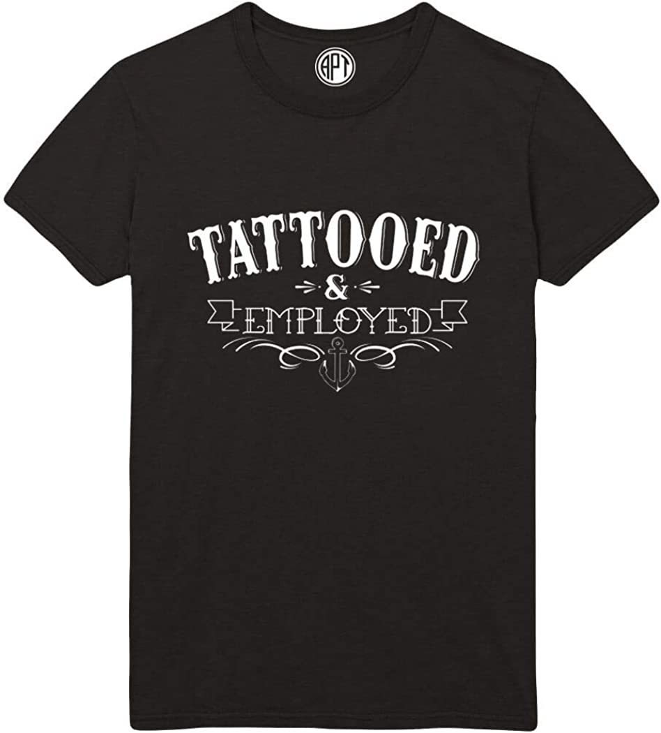 Tattooed & Employed Printed T-Shirt