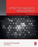 Effective Security Management, 7th Edition Front Cover