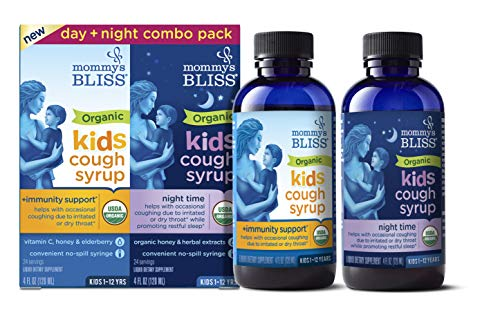 Mommy's Bliss - Organic Kids Cough Syrup + Immunity Support...