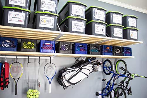 Rhino Combo Universal Garage Storage Kit - 16 feet