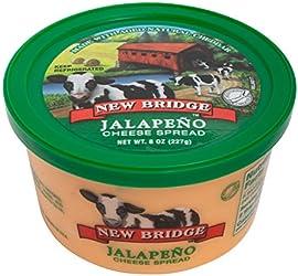 New Bridge Jalapeno Cheese Spread, 8 Oz