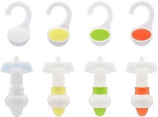 GAONA これエエやん ガオナ 詰め替えそのままミニ ホルダーとポンプ4色セット (パックそのまま 簡単取付) 日本製 GA-FP033 4色入りホワイト、イエロー、グリーン、オレンジ