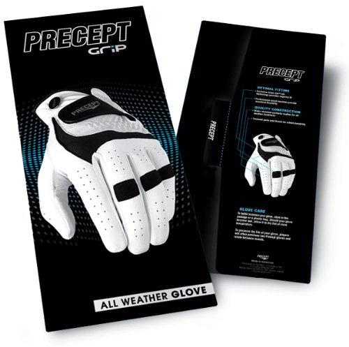 Precept Damen Golf Handschuh, Black, S, 5gl1bk