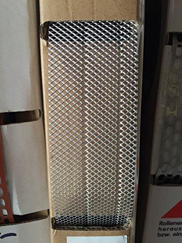 ALU Insektenschutzgitter Vogelschutzgitter Multiband 80mm/30-50 x 10m