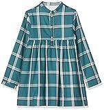 Gocco Vestido Estampado Cuadroa, Verde (Verde VF), 110 (Tamaño del Fabricante:4-5) para Niñas
