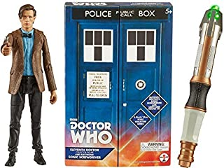 Doctor Who 11th Doctor and Electronic Sonic Screwdriver Toy