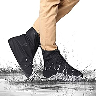 2win2buy Reusable Washable Clean Shoe Cover Anti Slip Snow Dust Oil Rain [Heavy Duty] Waterproof. Applicable for Travel Medic Walking Running Activities - XL SIZE