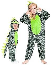 4. IKALI Toddler One-Piece Dinosaur Onesie