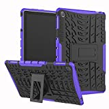 KATUMO Duras Funda para Huawei Mediapad M5 Lite 10.1 Silicona Fundas M5 Lite 10 Carcasa con Soporte Funcion Cover Tablet M5 Lite