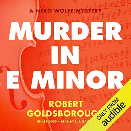 Murder in E Minor cover art